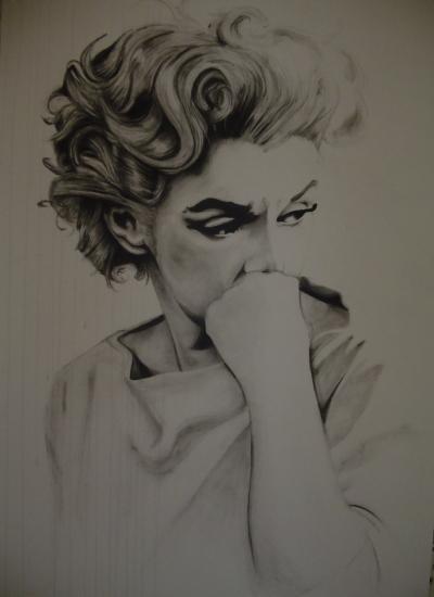 Marilyn Monroe by edwood.zero
